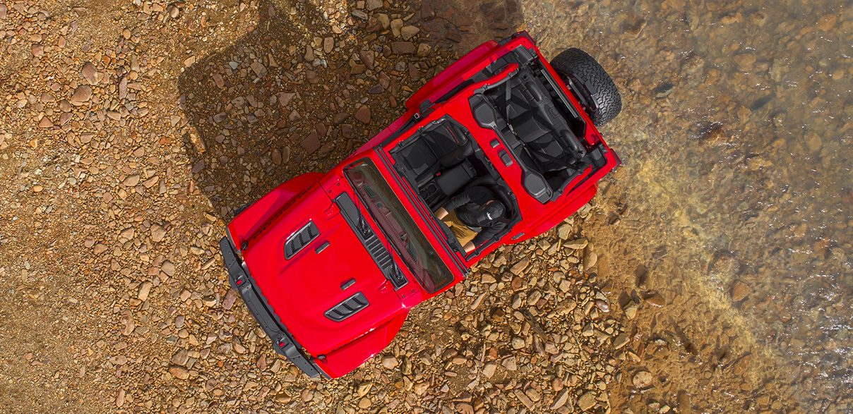 Jeep Off Road Driving